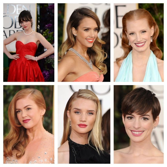 golden globes beauties