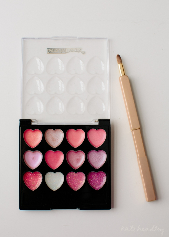Beauty Treats Love Heart Lip Gloss Palette