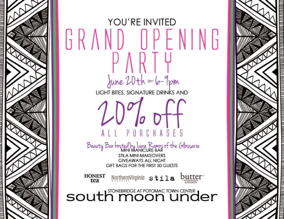 south moon under grand opening