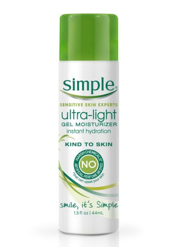 simple ultra-light gel moisturizer